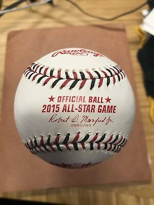 Rawlings 2015 All Star Official MLB Game Baseball Cincinnati Reds Boxed