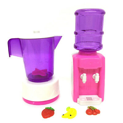 KID DOLL LIQUIDIZER FURNITURE WATER DISPENSER FOR DOLL HOUSE BABY TOYS GIFT ZPHN