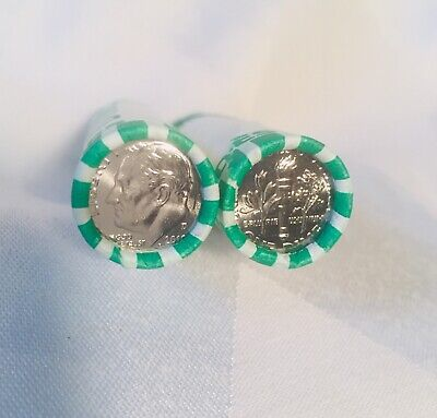 Lot of 2 rolls 2019 D Roosevelt dimes - Buy it now Free Shipping