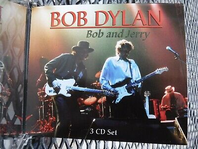 JERRY GARCIA AND BOB DYLAN-3 DISC SET NEW-UNUSED-MINT-IMPORT-CASE HAS CRACK