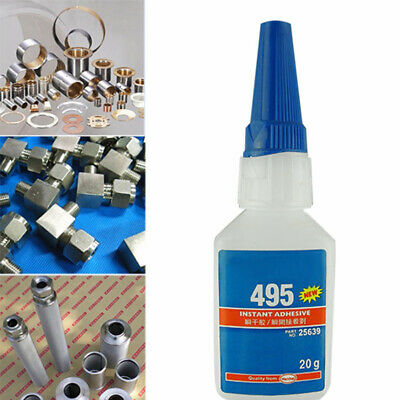 STRONG LIQUID GLUE FOR PLASTIC WOOD INSTANT ADHESIVE SUPER GLUE 406 480 403 495