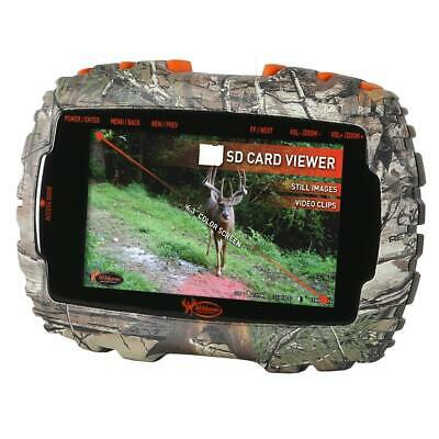Wildgame VU50 Trail Pad Media Viewer -Ultra thin design w 4-3 Color TFT Screen