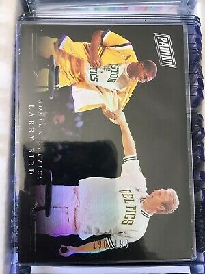 2018 Panini Black Friday Larry Bird - Magic Johnson Boston Celtics Insert 199