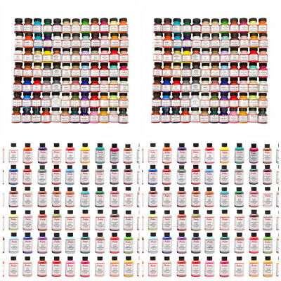 Angelus Acrylic Leather Paint Dye Purses Jackets Sneakers 1 - 4 oz All Colors