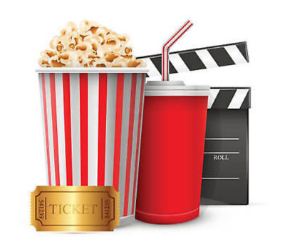 1 Lg popcorn AMC Theaters-EXP- 6-30-20 EDELIVERY