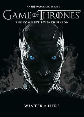 Game of Thrones season 7  4 discs dvd set 8 episodes