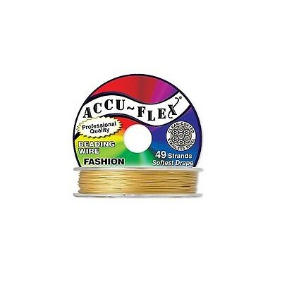 30ft 9-14m Accu-Flex Beading Wire Stainless Steel 49 strands 0-024 0-61mm