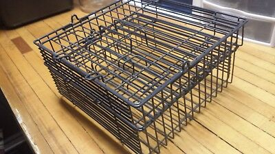 Square Metal Wire Baskets - Set of 2