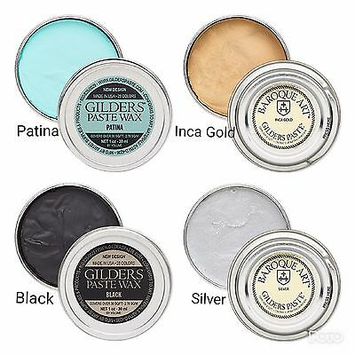 Gilders Paste® Wax paste Gilders paste wax 1 ounce 30 ml canister