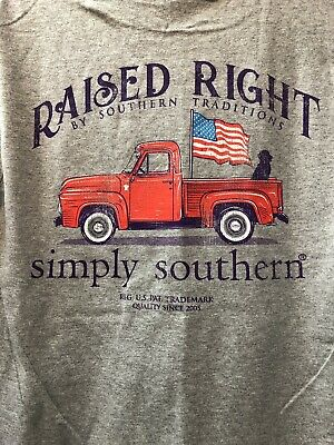 Simply Southern Guys Raised Right By Southern Tradition 4th of July Patriotic