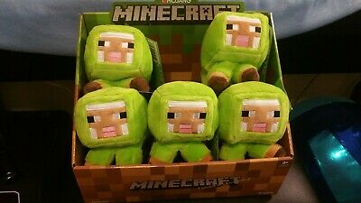 NEW - MINECRAFT MINECON EARTH EXCLUSIVE 2018 SHEEP PLUSH STUFFED TOY