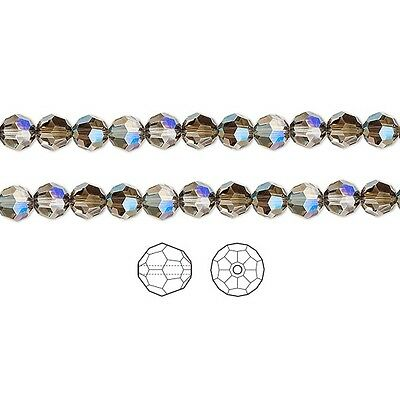 12 Swarovski Crystal Beads Faceted Round 5000 8mm 12 Swarovski Beads 5000 8mm