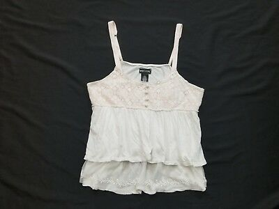 Wet Seal Womens Lace Tank Top Size Large L