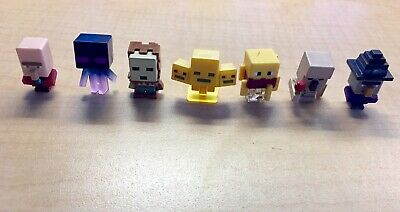 Minecraft Minifigures Lot of 7 with Golden Wither