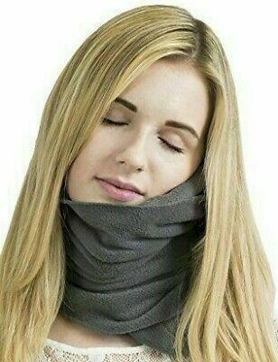 Travel Pillow - Soft Neck Support Pillow - Gray - Brand New - Free Shipping