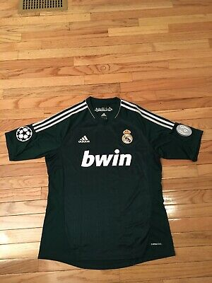 Real Madrid Adidas Climacool Mens Soccer Jersey Size L