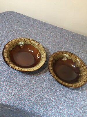 2 Campbell Pottery Bowls Unsigned