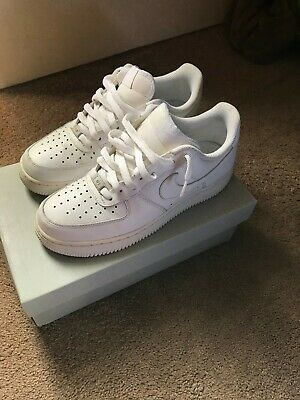 Nike Air Force 1 Mens Shoes 315122-111 White Sneakers Size 8-5