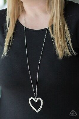 Paparazzi 'A Mother's Love' Silver Heart Necklace Mothers Day NEW