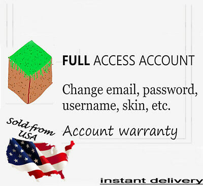 Minecraft Java Edition  FAST DELIVERY  FULL ACCESS  Premium Account
