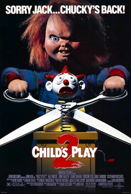 CHILDS PLAY 2 - CLASSIC MOVIE POSTER 24x36 - CHUCKY 53221