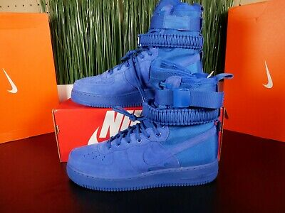 Nike SF AF1 Casual Mens Air Force 1 Special Field Boots Blue 864024-401 Multi Sz
