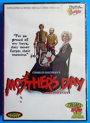 MOTHERS DAY DIRECTORS CUT DVD BRAND NEW SEALED TROMA VIDEO INDY HORROR