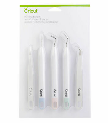 Cricut Weeding Tool Set 5pc Cricut Specialty Craft Tools Brand New Sealed Pack