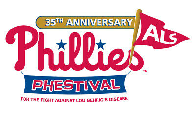 2019 PHILLIES PHESTIVAL TICKETS 2 ADM - 4 AUTOGRAPH - 61319 SOLD OUT