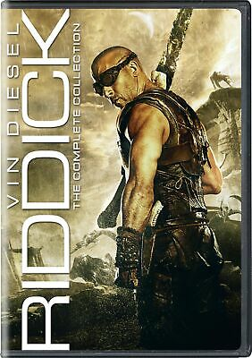 Riddick The Complete Collection DVD Radha Mitchell NEW