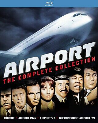 Airport The Complete Collection Blu-ray Gary Collins NEW