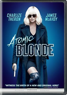 Atomic Blonde DVD Charlize Theron NEW
