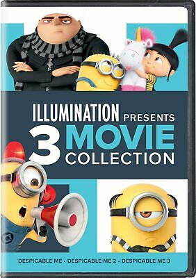 Illuminatiion Presents Despicable Me 3-Movie Collection DVD Steve Carell NEW