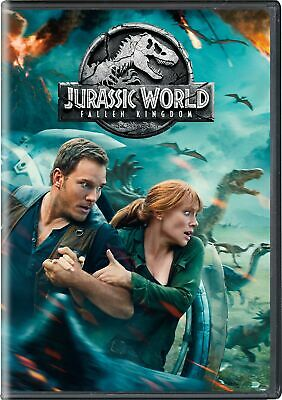 Jurassic World - Fallen Kingdom DVD Bryce Dallas Howard NEW