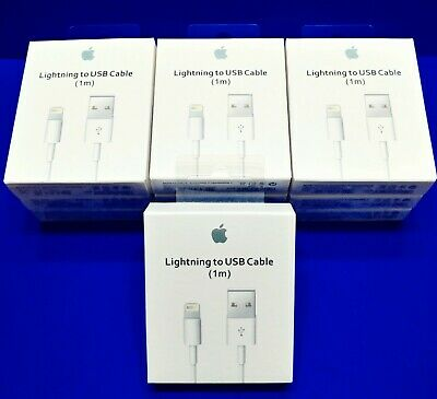 Genuine Original OEM Apple Lightning USB Charger Cable Cord iPhone 6 7 8 X Plus-