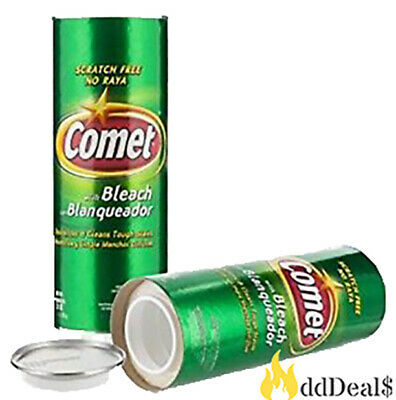 Comet 2X Cleaning Power Bleach Cleanser Diversion Stash Can Safe 28oz