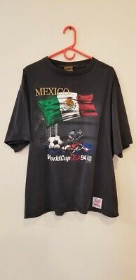 MEXICO WORLD CUP USA 94 Vintage T-Shirt XL