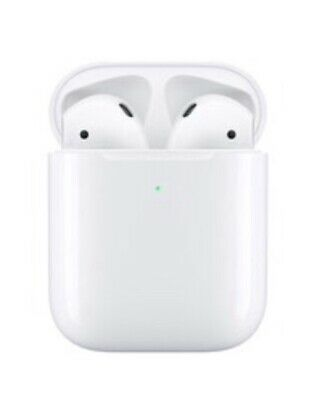 New Genuine Apple AirPods 2nd Generation with Charging Case MV7N2AMA READ DESCR