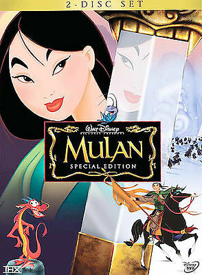 Mulan DVD 2-Disc Set Special Edition New - Sealed comes with Slipcover Free Ship