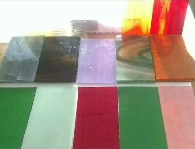 7 X 4 10 Pieces Stained Glass Variety Pack-
