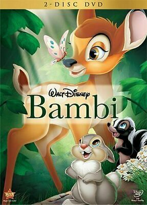 Bambi DVD 2011 2-DISC SET  New and Sealed - FREE SHIPPING