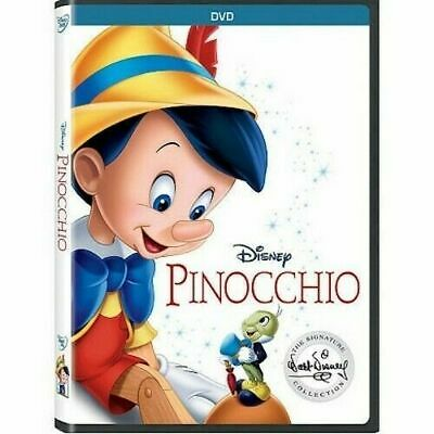 Pinocchio DVD New - Sealed comes with Slipcover Free Shipping included