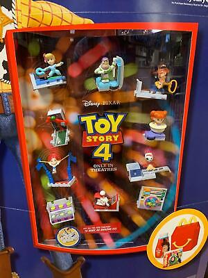 2019 McDONALDS TOY STORY 4 HAPPY MEAL TOYS Choose Your character SHIPS NOW