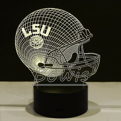 LSU Tigers College Football LED Light Touch Lamp Collectible Gift Joe Burrow
