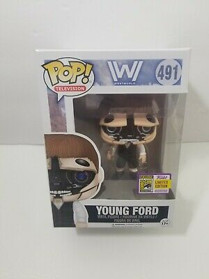 SDCC 2017 Funko POP Westworld Robotic Young Ford Pop