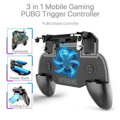 Mobile Phone Game Controller Trigger Aim Fire Button Shooter For PUBG Fortnite