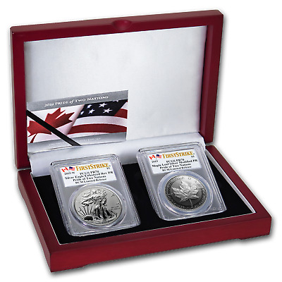2019 RCM Pride of Two Nations 2-Coin Set PR-70 PCGS FS - SKU195547