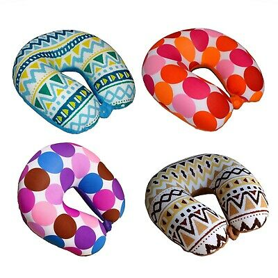 Kid Size Micro Beads Travel Pillow U Shaped Neck Pillow for Kids Travel