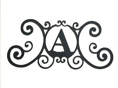Iron Metal Letter A Personalized Initial Name Wall Art Decoration Minor Defect