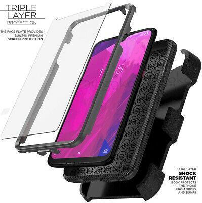 T-Mobile Revvlry  Revvlry- Plus Clip Holster Stand Case Cover SCREEN PROTECTOR